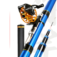 Shuangbao Front end Fishing Rod High Carbon Superhard Positioning Fishing Pole Ultralight 5.4/6.3/7.2M Power Hand Pole Pesca Set