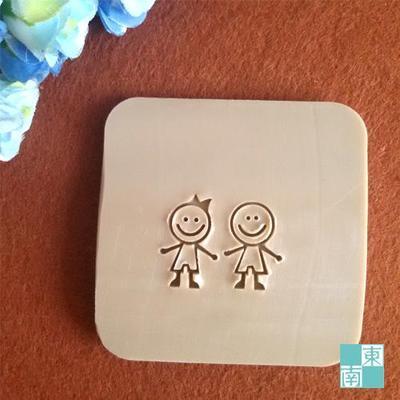Spedizione gratuita lover boy girl sapone fatto a mano sapone mini sapone  fai da te timbro capitolo del sapone 5 cm   5 cm 2cf3fa24ca3