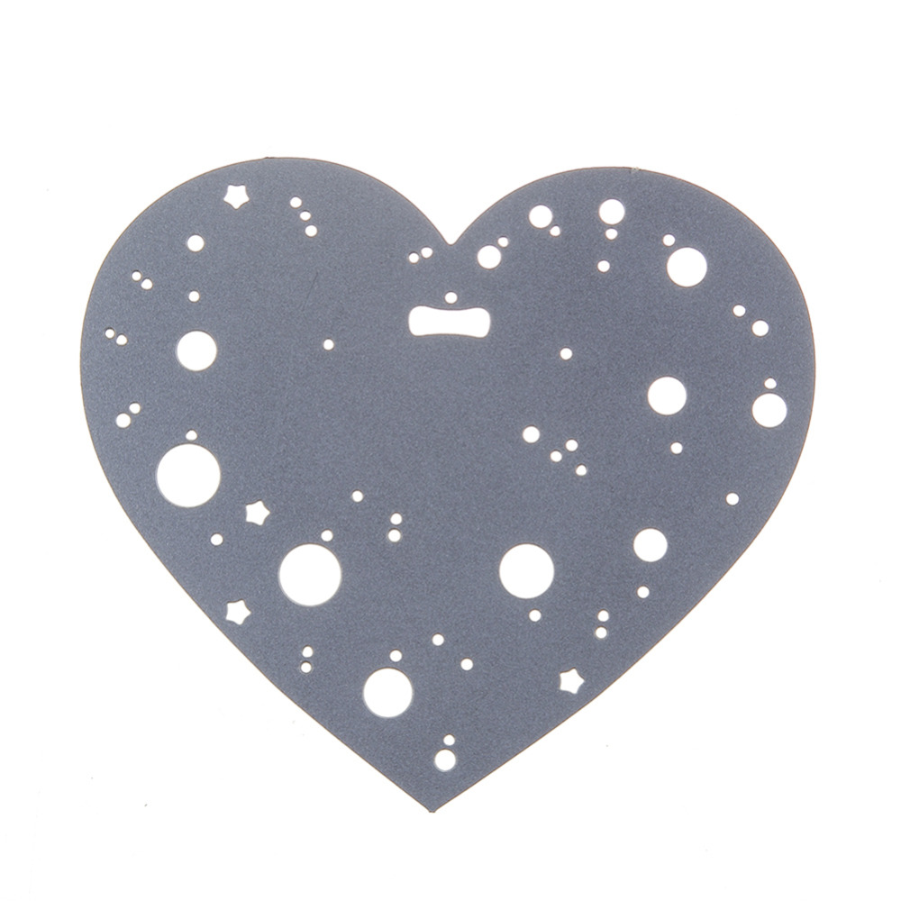 79*70mm scrapbooking DIY key flower heart Metal steel cutting die love Shape Book photo album art card Dies Cut