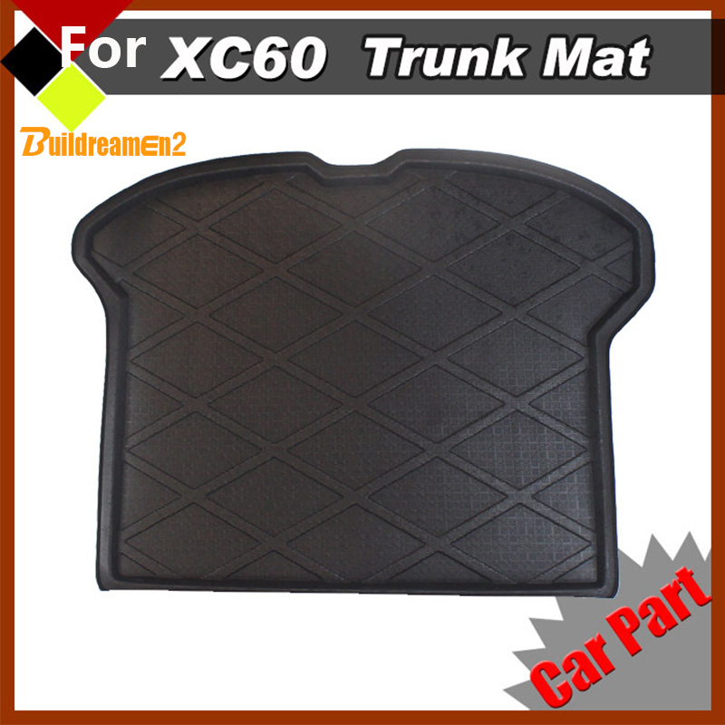 Buildreamen2 Car SUV Trunk Protector Floor Mat Rear Area Area Carpet Seat Cushion Waterproof Easy Cleaning For Volvo XC60 2009