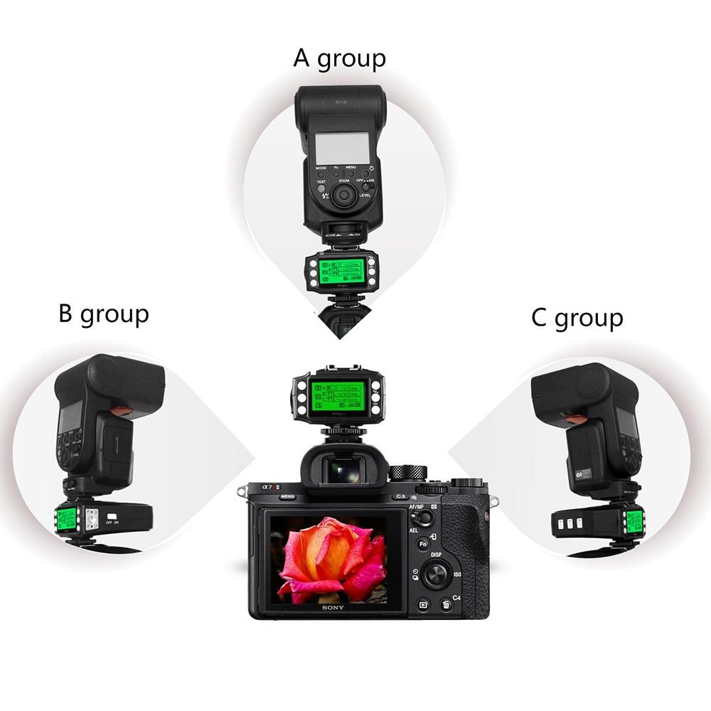 PIXEL KING PRO Flash Trigger үшін Sony A7 A7R A7RII A6300 A65 - Камера және фотосурет - фото 3