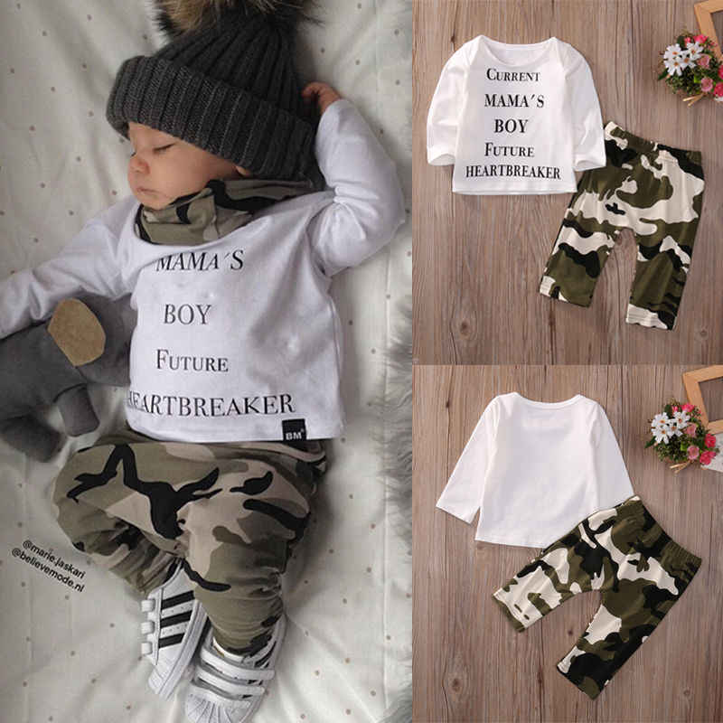 3968d961c Detail Feedback Questions about Newborn Infant Kids Baby Boy Clothes Set  Casual T shirt Tops Long Sleeve Long Pants Outfits Clothing Set 2PCS on ...
