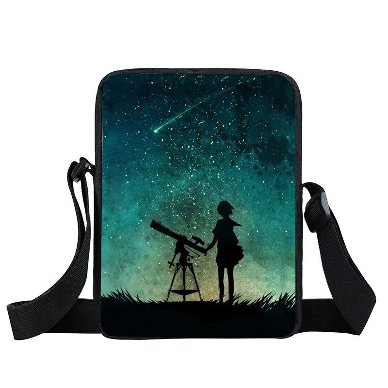 Roblox Galaxy Night Sky Messenger Bag Men Women Handbags ...