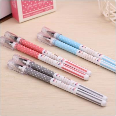 New Creative Usa Flag Style Gel Ink Pen For Students High Quality Office Stationery