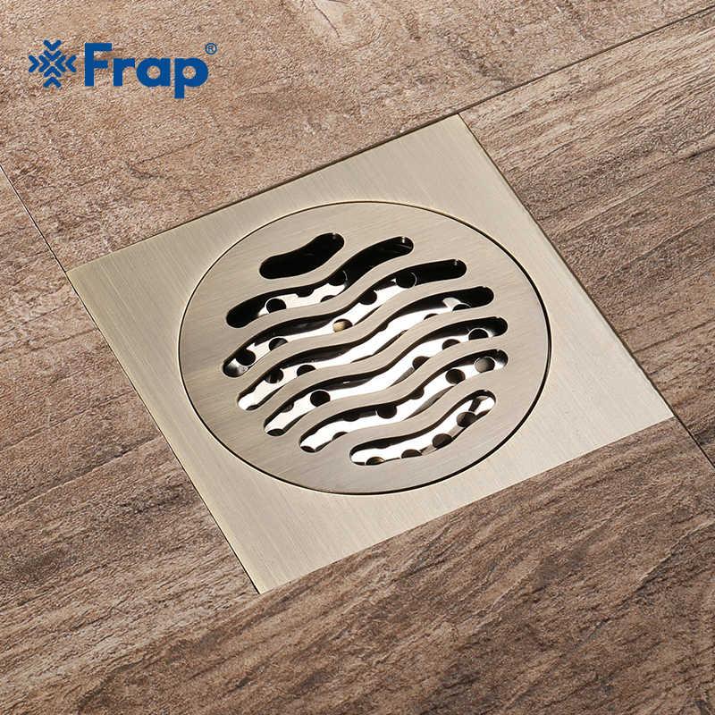 Frap wysokiej jakości łazienka kuchnia balkon prysznic odpływy podłogowe 10*10 cm antyczny plac piętro prysznic spustowy odpadów ruszt DrainY38081