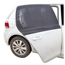 Motores de alta Qualidade Óculos de Sol Oferecem a maior proteção UV Capa janela lateral traseira 2 x de Alta qualidade malha sombra Carro