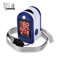 Instant Read Digital Fingertip Pulse Oximeter Health Monitoring Display