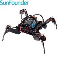 SunFounder Remote Control Crawling Robotics Model DIY Kit For Arduino Electronics Servo Motor RC Smart Robot