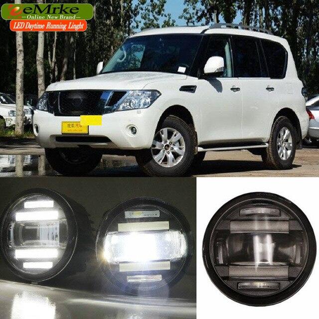 US $143 78 9% OFF|Aliexpress com : Buy eeMrke Car Styling For Nissan Patrol  Armada Y62 2 in 1 Multifunction LED Fog Lights DRL With Lens Daytime