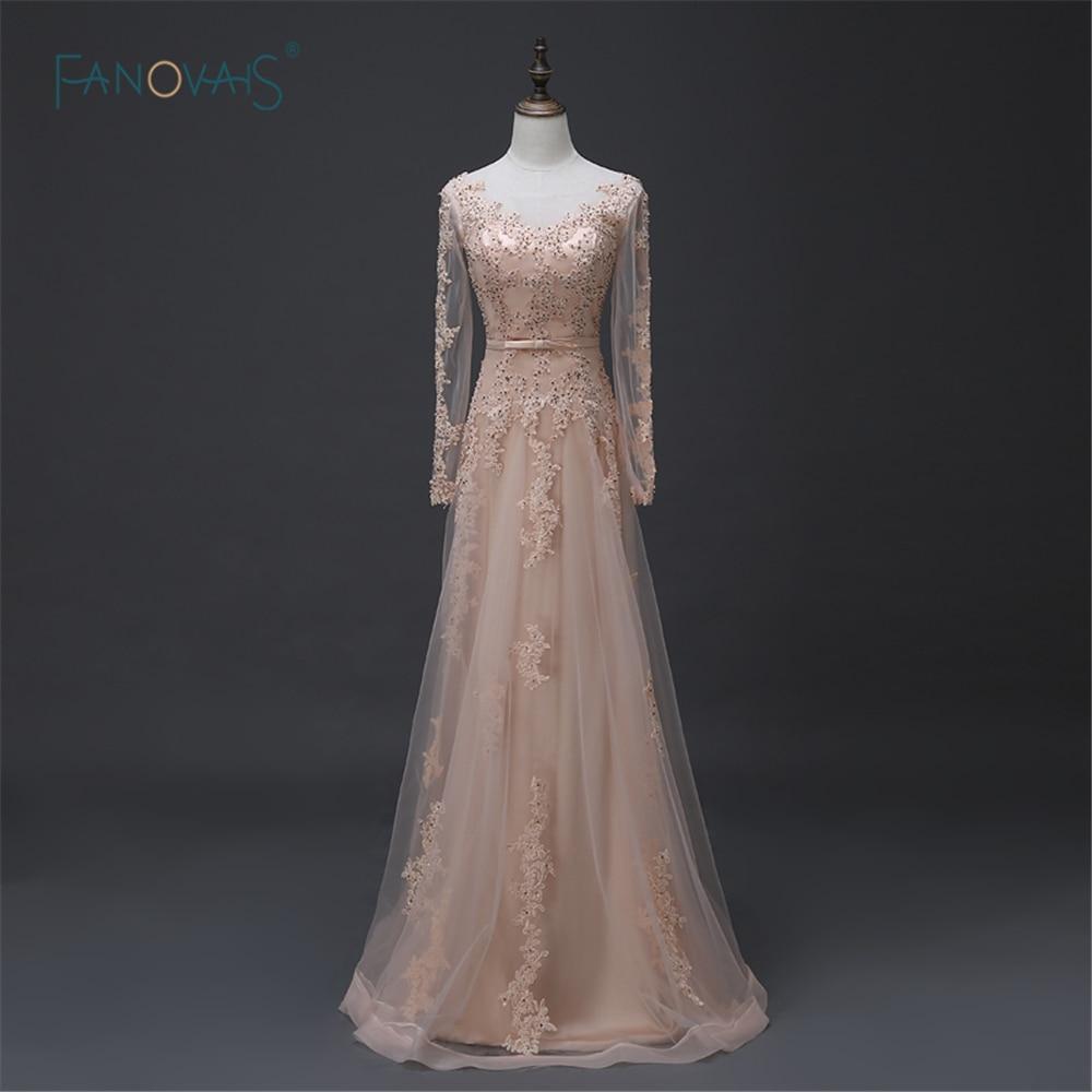Elegantne modne prave fotografije mehke večerne obleke iz tila dolge - Obleke za posebne priložnosti