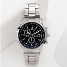 цена на New Men Fashion Watch Hot Brand Casual Luxury Full Stainless Steel Quartz WristWatch relogio masculino erkek kol saati watches