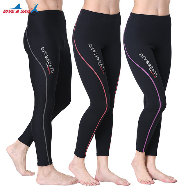DIVE SAIL Hot 1.5MM Neoprene Diving Wetsuit Long Pants For Men   Women  Snorkeling Spearfishing Surfing Rashguard Leggings Warm I 8c596dab9