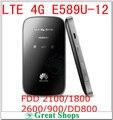 Разблокирована Huawei E589u-12 4G Lte FDD 2100/1800/2600/900/DD800 WIFI 3 г Модем Pocket Mobile Hotspot Маршрутизатор PK e587 mf90 e5776