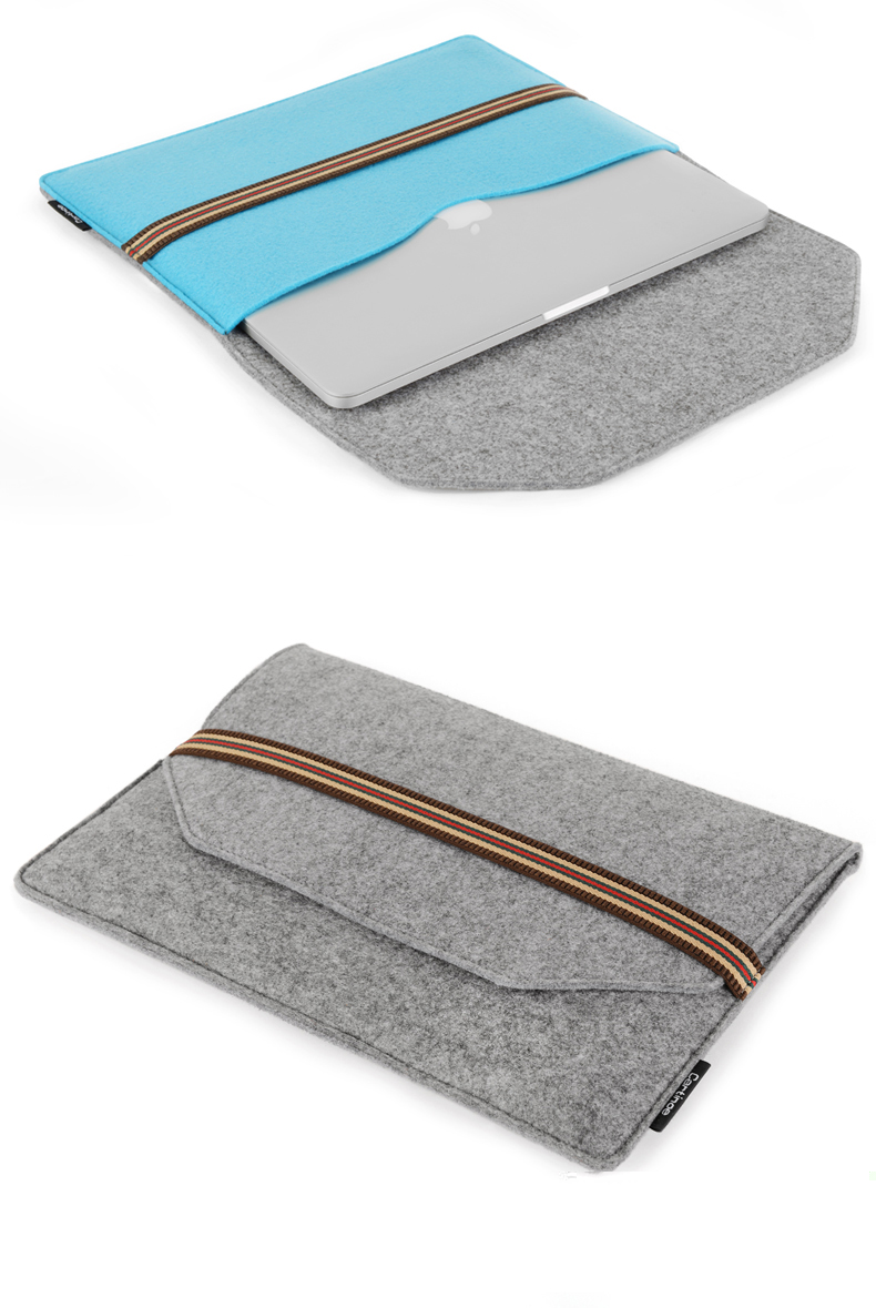 Sleeve pouch for MacBook Air 1113 Cover bag for Retina MacBook Pro 1315 inch Laptop pouch Universal sleeve bag cover case 2016 laptop sleeve bag case pouch cover for 11 13 inch macbook air 12 macbook 13 15 macbook pro retina ultrabook notebook