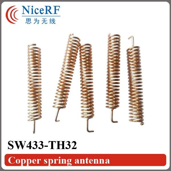 200 pcs/lot SW433 TH32 433 MHz antenne à ressort en cuivre pour module RF sans fil-in Telecom Pièces from Téléphones portables et télécommunications on AliExpress - 11.11_Double 11_Singles' Day 1
