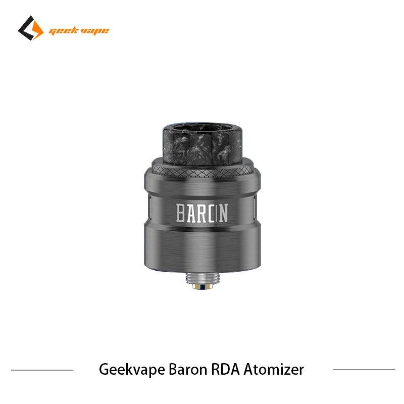 2 pcs/lot Geekvape Baron RDA système de flux d'air 24mm atomiseur RDA Squonker RDA 510 vs drop dead RDA réservoir de Vape de Cigarette électronique - 5