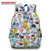 Kids MINI Printing Backpacks Kindergarten Kuwaii School Bag for Boys Girls Cartoon Animal Emoji Back Pack Orthopedic Schoolbags