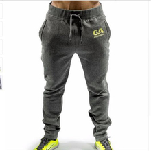 2017 GASP joggers men Top quality brand clothing casual pants men male sweatpants trousers Dark blue Army