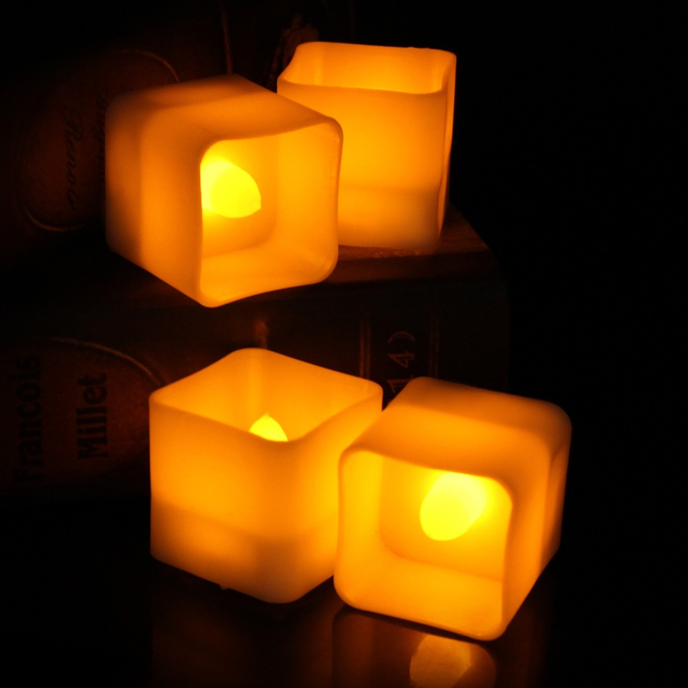 5007062619_1650456754  12pcs Flickering LED Candles Sq. Pillar Faux Candle Electrical Tealight for Residence Decor Wedding ceremony Events HTB1NozsB7OWBuNjSsppq6xPgpXaY
