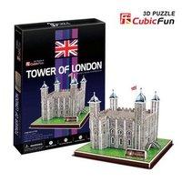 Originele Cubicfun 3d-puzzel Bouwplaat DIY speelgoed kinderen gift Toren van Londen UK Nieuwe Edition wereld geweldige architectuur C715H