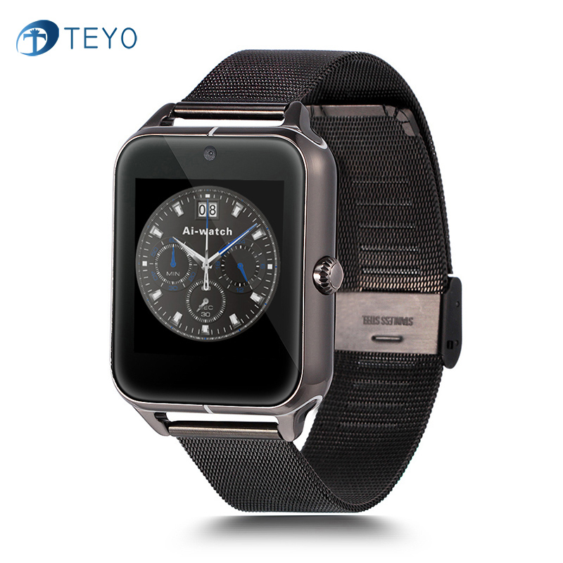Aiwatch Smart Watch Z50 Bluetooth Smartwatch Twitter Facebook Notification Metal Strap for Android Phone цены онлайн