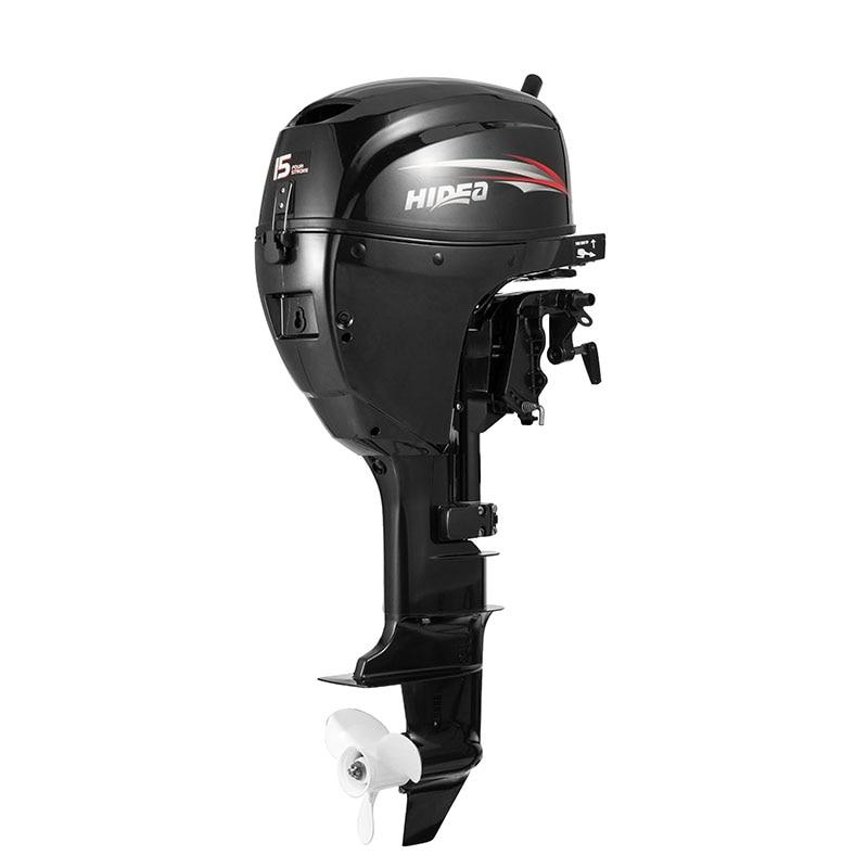 Hidea  Boat Engine  4 Stroke 15HP  Long Shaft  Manual start Outboard Motor For Sale