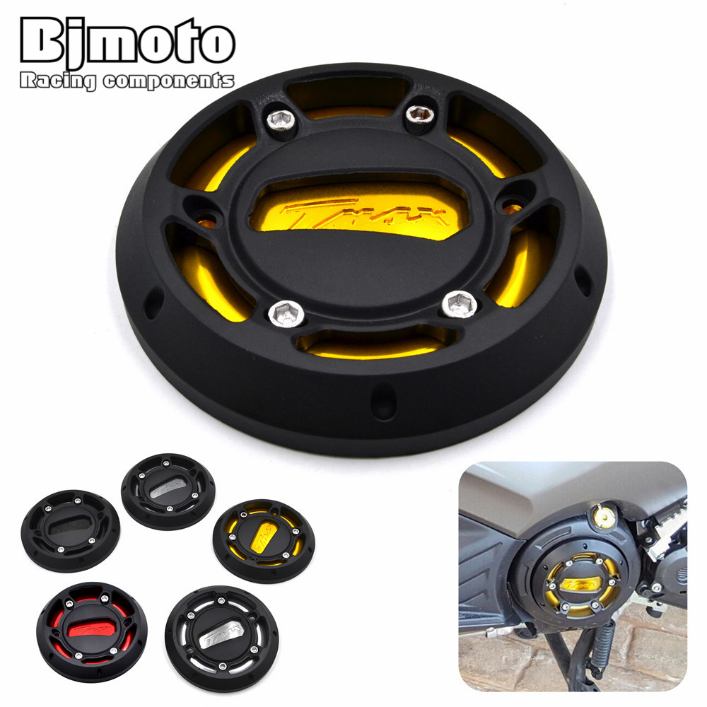 EPC-YA002 Motorcycle TMAX Engine Stator Cover CNC  Engine Protective Cover Protector For Yamaha T-max 530 12-16 MAX 500 08-11 men distressed denim overalls mens denim with suspenders new 2017 hole design washed male bib jeans