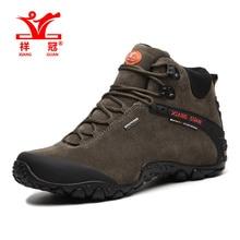 XIANGGUAN Men Trekking Shoes Brand Hiking Shoe Women Waterproof Walking Sneakers Man Outdoor Hunting trail slip resistant