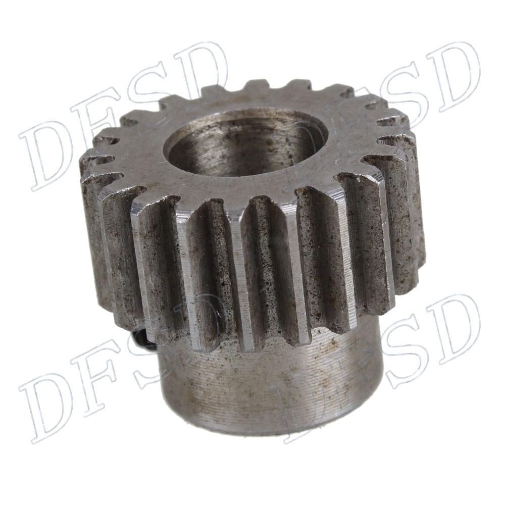2 pcs 10mm Hole Diameter Motor Metal Gear Wheel Modulus 1 20 Teeth Steel Gear diy 3mm 45 steel gear wheel motor 2 pcs