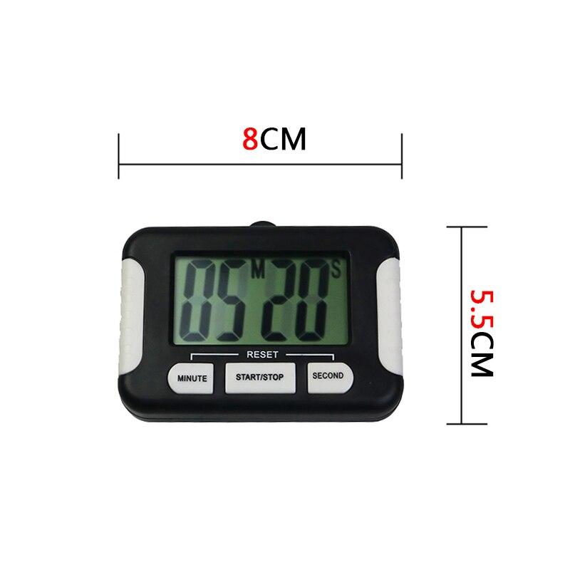 New Magnetic Digital Timer Kitchen Bar Set Time Reminder Count Down Up Cooking Timer Alarm Gift 99 Minute Kitchen Useful Cooking