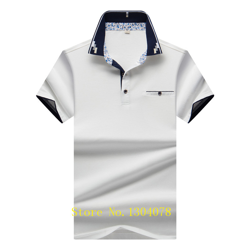 Hot Sale Men Clothes 2018 Solid camisa polo masculina ropa hombre Cotton Brand Tace Shark Polo Shirt Men Short Sleeve 3