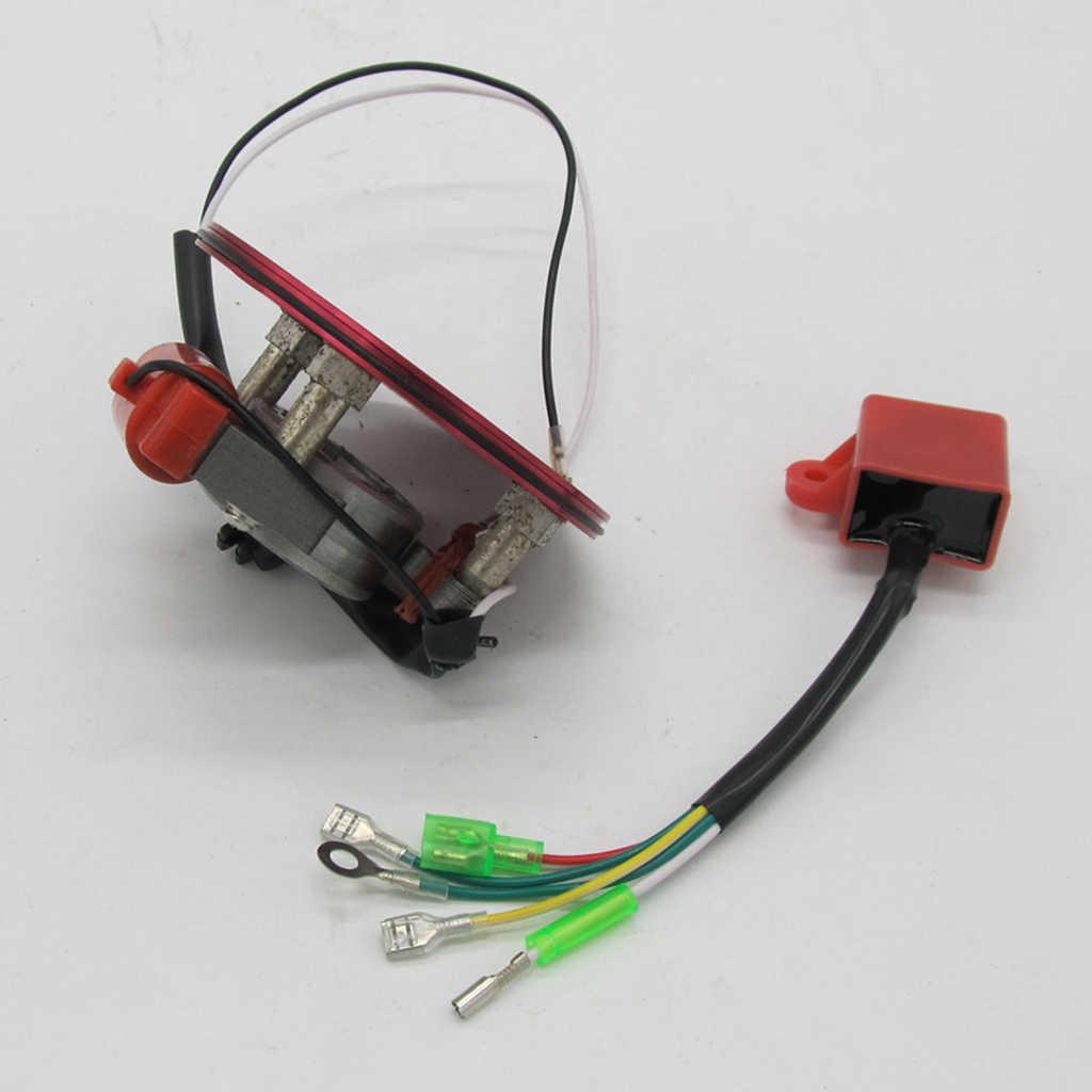 1 Buah Kinerja Tinggi Magneto Coil Dalam Rotor Stator Kit 50cc-125cc Dalam Rotor Stator Kit Magneto Coil Mesin