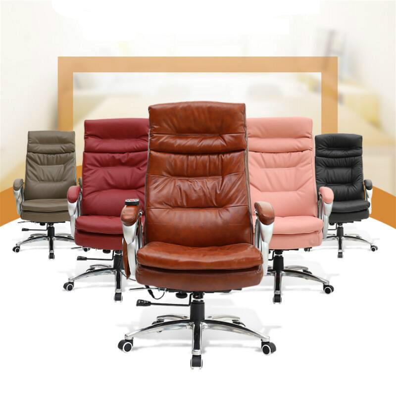 simple moda moderna jefe silla de ocio ajustable ngulo mentira silla mobiliario de oficina silla de