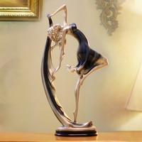 Ballet beauty Crafts Ballet Girl Sculpture Cabinet Decorations modern Fashion Accessories Modern Model Miniature Figurines