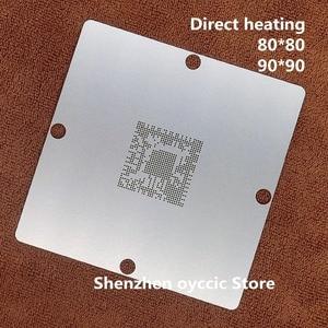 Image 1 - Doğrudan ısıtma 80*80 90*90 LGE2122 LGE2122 BTAH BGA Stencil Şablon