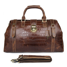 Cow Leather Duffle Bag Designer Mens Travel Large Capacity Handbag Vintage Tote 7281Q