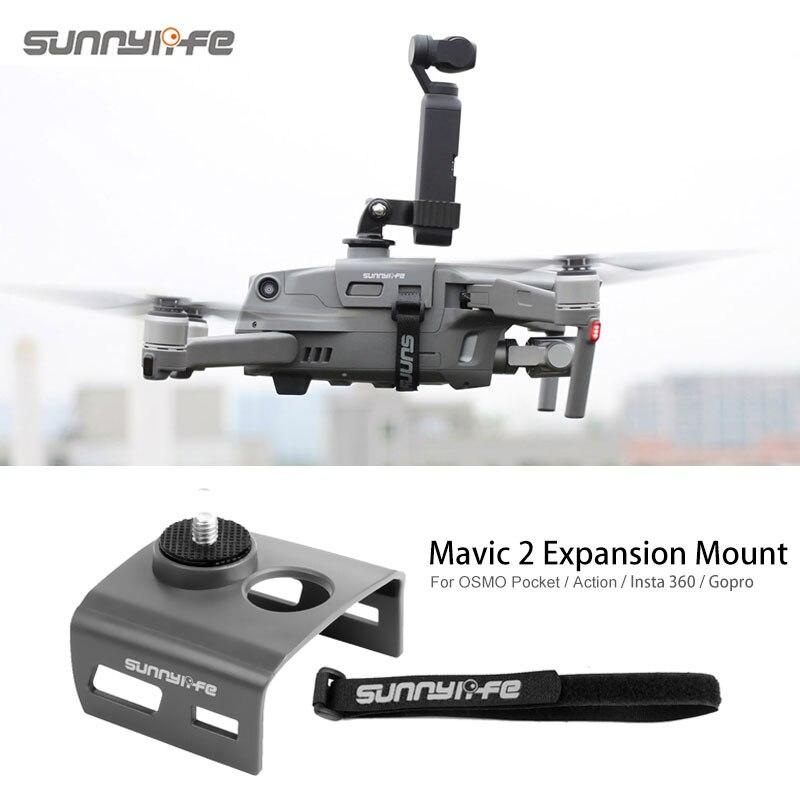 Expansion Kit Camera Fill Light Holder Mount Adapter For DJI MAVIC 2 Drone OSMO POCKET/ Action GOPRO Insta360