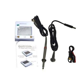 Professional Mini Portable Oscilloscope Interface 2MHz 5Msps Touch Screen USB Digital High Accuracy Oscilloscope Measuring Meter