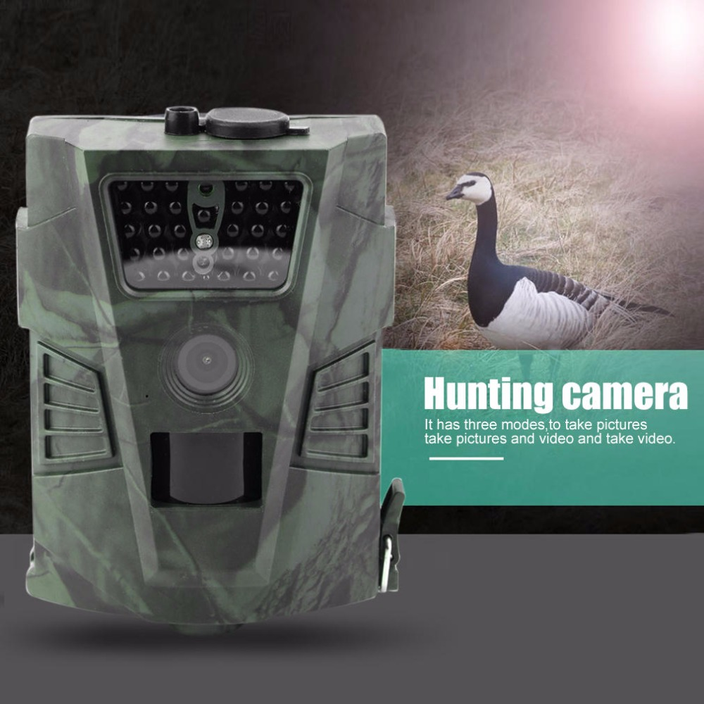 New HT-001 12MP 60 Degrees Detection Angle Hunting Camera Outdoor Digital Hunting Trail Camera Without LCD Wildlife Cameras 720P ht 002a wildlife hunting camera