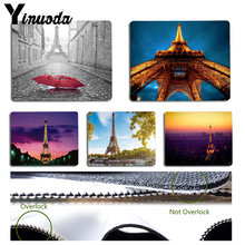 Yinuoda Beautiful Anime Eiffel Tower Comfort Mouse Mat Gaming Mousepad Size for Size for 180x220x2mm and 250x290x2mm(China)