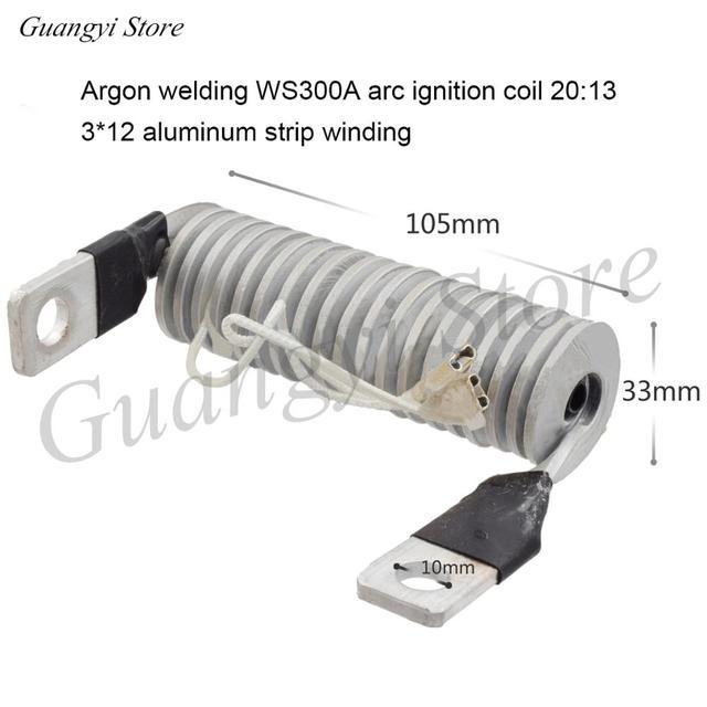 Высокочастотный дуговой стартер WS TIG 300A 315, индукционная катушка, дуговой стартер для инвертора, аргоновая дуговая сварочная машина