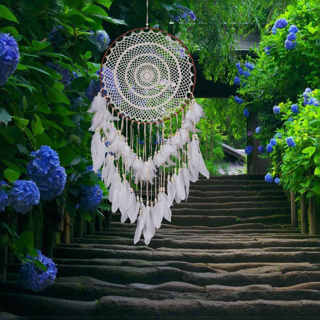 Beautiful Dream Catcher Handmade Big Dreamcatcher Home Ornaments Wall Hanging Decorations for Good Dream