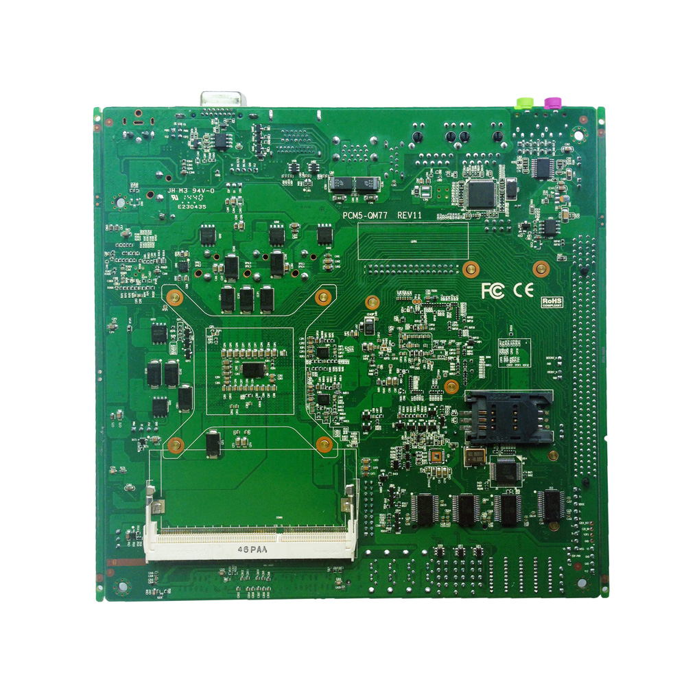 Image 2 - Cheap mini Mainboard support Intel core i3 i5 i7 processor Embedded Industrial Motherboard with 4xSATA XP/Win7/Win10 motherboard-in Industrial Computer & Accessories from Computer & Office