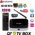 Q7 Android 4.4 TV Box CS918 Full HD 1080P RK3128 Quad Core Media Player 2GB/8GB XBMC KODI Wifi Bluetooth Smart TV Box