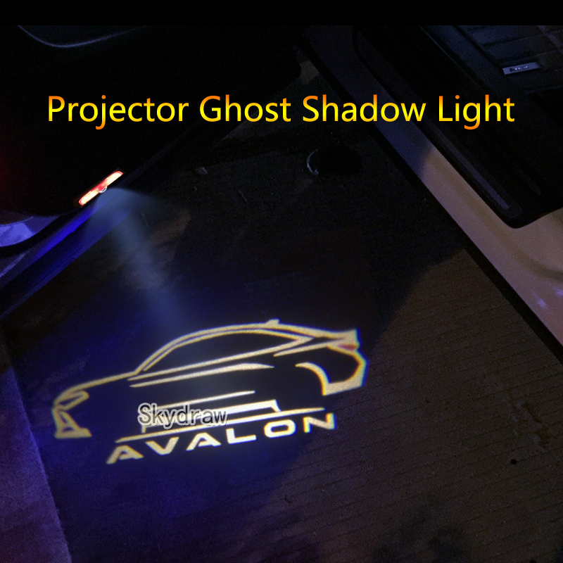 CAR LED PUDDLE PROJECTOR GHOST DOOR LIGHTS FOR MERCEDES BENZ W204 C-CLASS 08-14