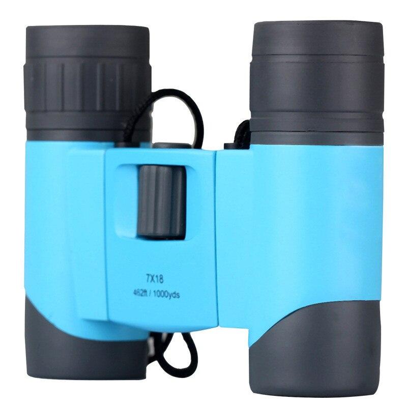 7x18 randonnée Camping jumelles haute puissance haute définition Vision nocturne télescopio extérieur étanche optique télescope miroir