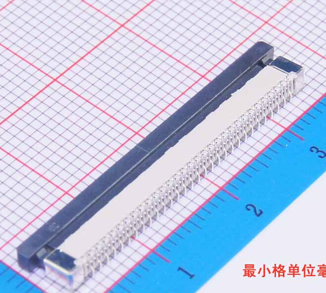 100Pcs Flexible Flat Cable Connector Vertical Type 0.5mm 60P FFC FPC Socket 0.5mm Pitch 60Pin 2 pcs 125 mm 60 pin 0 5mm pitch ffc cable flat ribbon flat cable same sides 60p for ffc connector ul style 20624