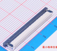 100Pcs Flexible Flat Cable Connector Vertical Type 0.5mm 60P FFC FPC Socket 0.5mm Pitch 60Pin