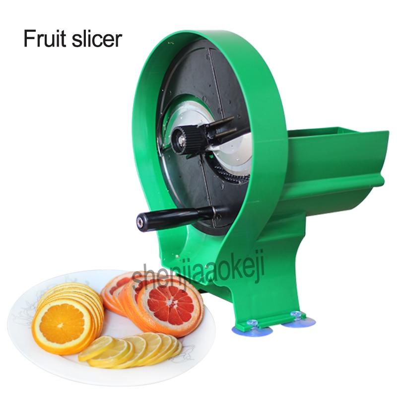 Commercial Adjustable thickness sliced lemon slicer Manual Fruit Slicer Potato Ginger Lotus Root lemon orange apple slicer 1pc commercial manual potato slicer machine portable rotatory manual potato slicer fruit