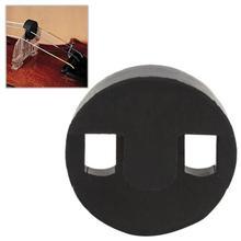35x35 мм резиновый регулируемый акустический виолончель прочный круглый резиновый дизайн Виолончель глушитель Виолончель практика немой глушитель